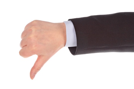 hand with disapproval gesture Stock Photo - 10885879