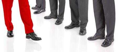 slacks: Businessmen