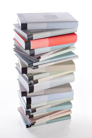 Books stack. photo