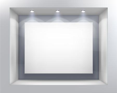 spotlight lamp: Finestra del negozio.