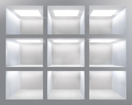 Shelves  Vector illustration