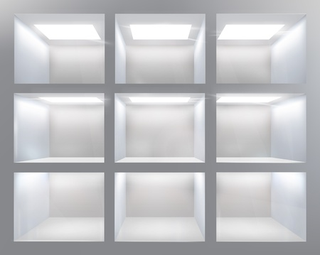Shelves  Vector illustration  Vector