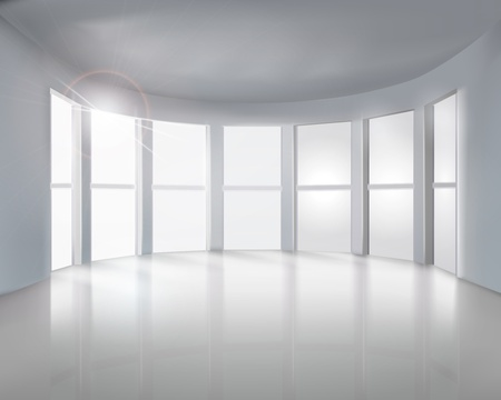 empty room: Windows illustration
