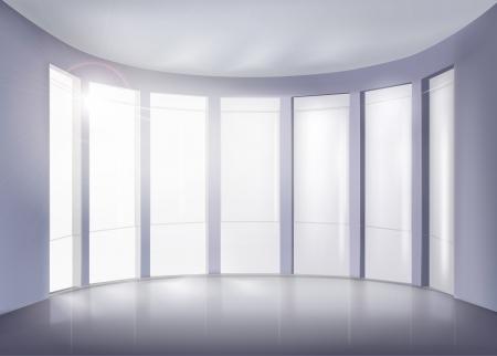 windows home: Modern interior.