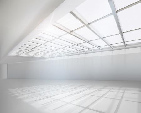 ceiling design: Apartamento blanco. Vector ilustraci�n. Vectores