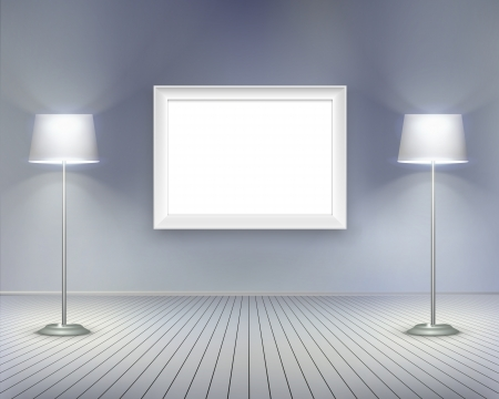 Room with picture  Stock Vector - 15544988
