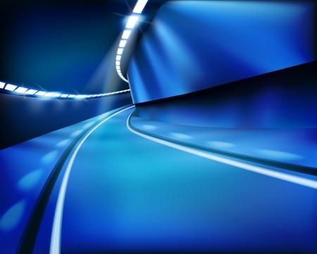 Empty tunnel. Фото со стока - 15754854