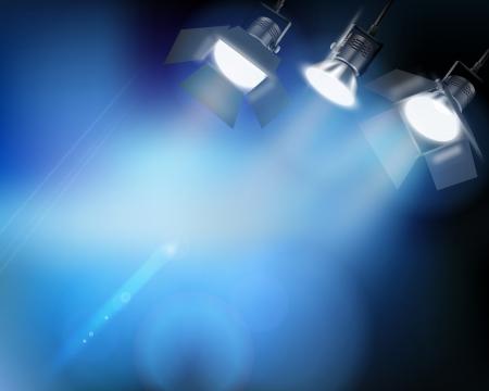Spotlight da una performance