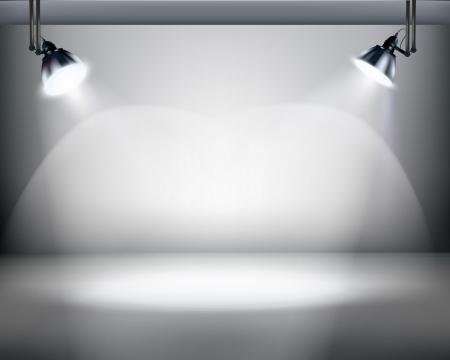 희미한 빛: 스튜디오 일러스트