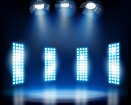 Stage effects  Vector illustration