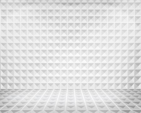 illuminated: Illuminated space in shop window  illustration