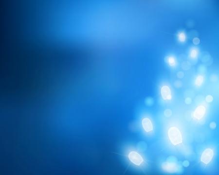 festivity: Tree from light  Vector illustration