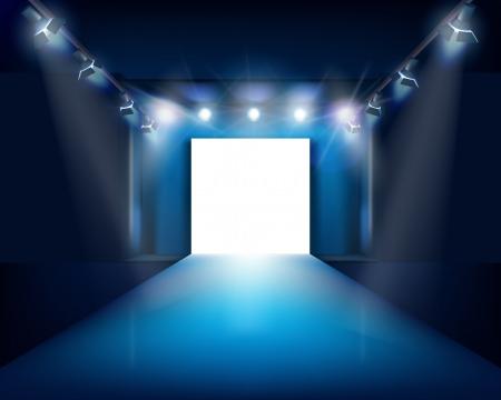 ファッション ステージ ベクトル イラスト  イラスト・ベクター素材