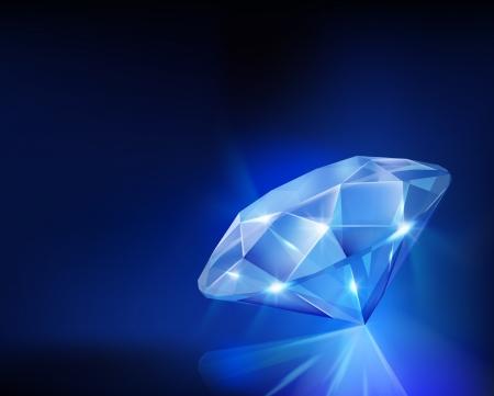 Diamond  Vector illustration  Stock Vector - 25275986