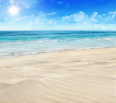 tropical beaches: Tropical beach Stock Photo