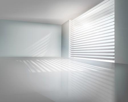 perspektiv: Modern kontors Vector illustration