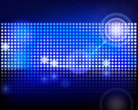 Pixels in een scherm Vector illustratie Stock Illustratie