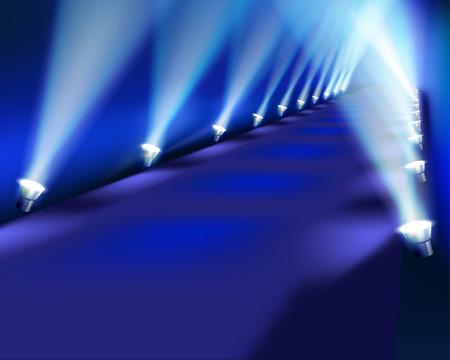 Light performance - Vector illustration Vector