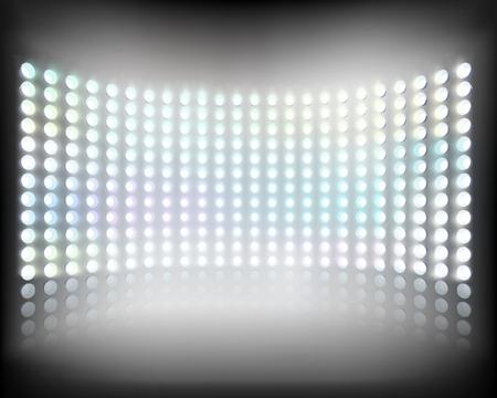 Large multimedia screen  Vector
