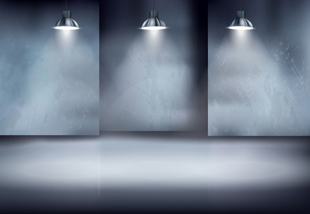 Old warehouse illustration