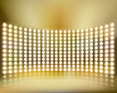 Light show. Vector illustration. 矢量图像