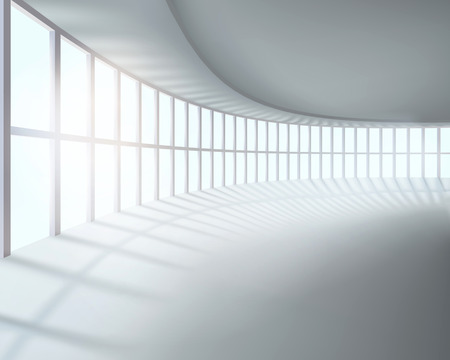 Grote kamer. Vector illustratie.