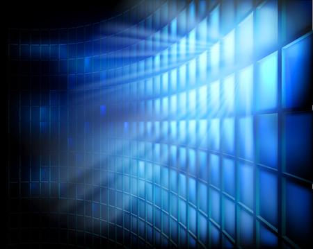 отображения: Светодиодный дисплей. Векторная иллюстрация.