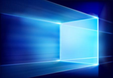 Virtual projection screen. Vector illustration. Illustration