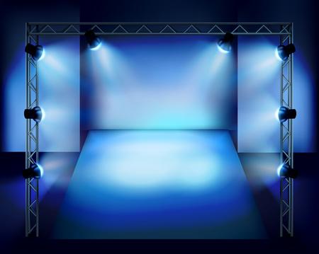 ステージに表示されます。