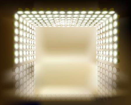 light show: Light show Illustration