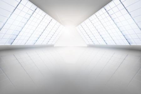 Duża sala. Ilustracji wektorowych.