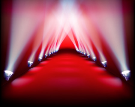 Runway show. Vector illustration. 矢量图像