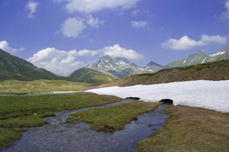 high plateau: High plateau in the Alps
