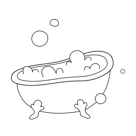 Cartoon-Vektor-Illustration auf weißem Hintergrund.