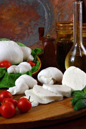 mozzarella 免版税图像