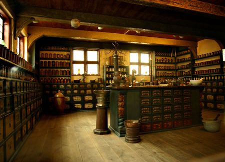 old pharmacy