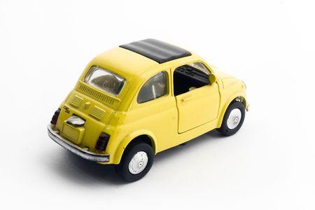 a little model of an old italian car photo