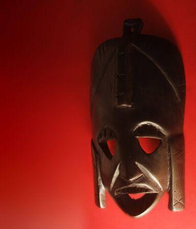 maschera tribale: maschera tribale  Archivio Fotografico