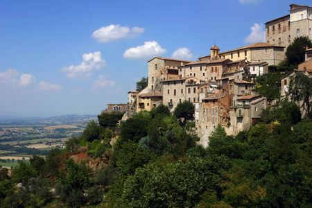 todi, a little town in italy