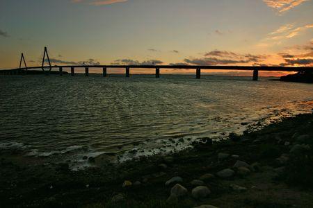 bridge through the sunset Stock Photo - 752557