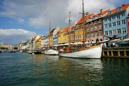 nyhan harbour in copenhagen