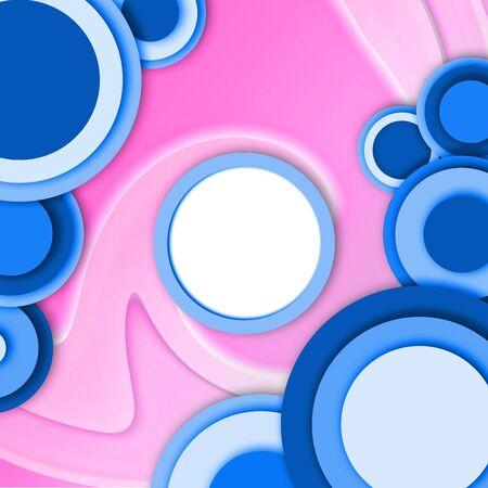 Zusammenfassung Jahrgang Hintergrund mit und schwenken weiße runde Platz in der Mitte