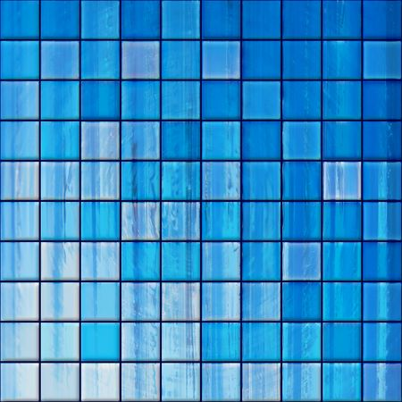 colorful modern mosaic tile in a bathroom Stock Photo - 861141