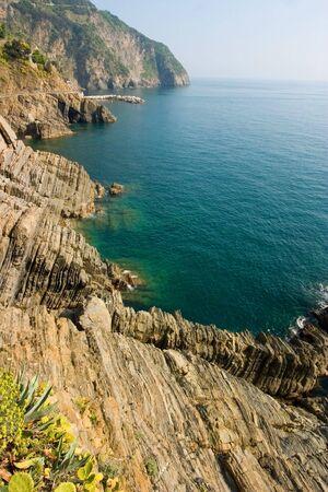 limpid: limpid water of the Mediterranean - Cinque Terre - Italy