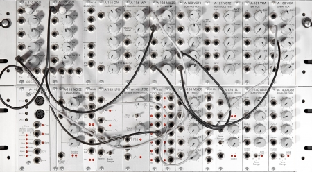 big modular synthesizer