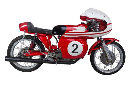 motor cycle: vintage motorbike
