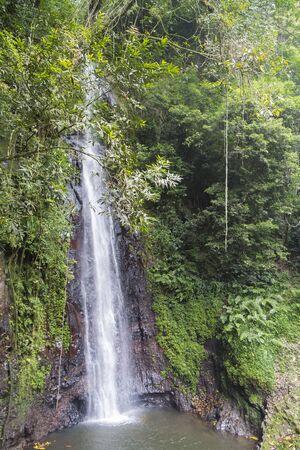 Water falls in Sao Tome
