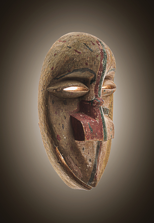 Isolated African Mask