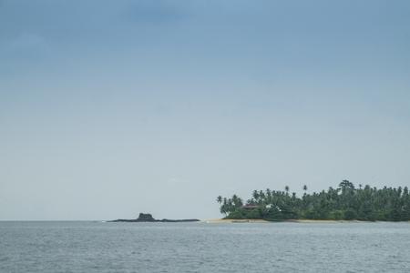 principe: tropical de la isla de Santo Tomé Foto de archivo