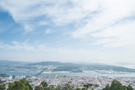 Viana do castelo view from above
